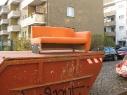 Die Farbe Orange...ist die Farbe der Müllabfuhr. (Gabriele Kantel)