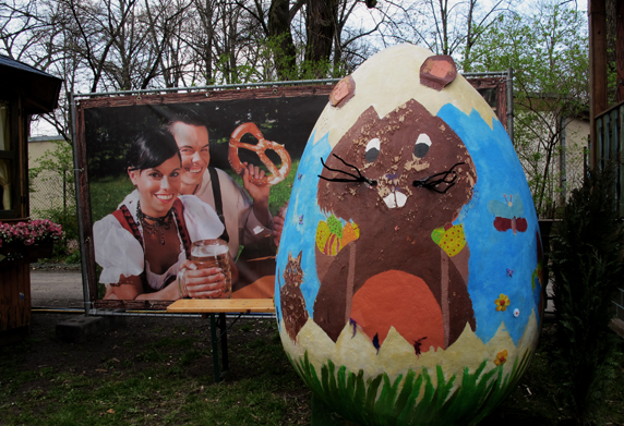 Biergarten meets Ostern