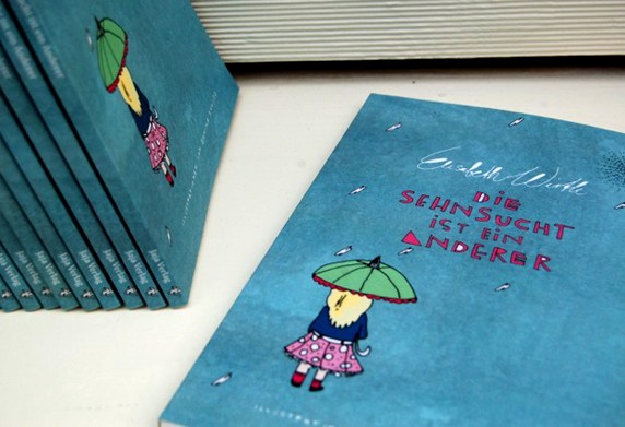 """Cover von """"Die Sehnsucht ist ein anderer"""""""