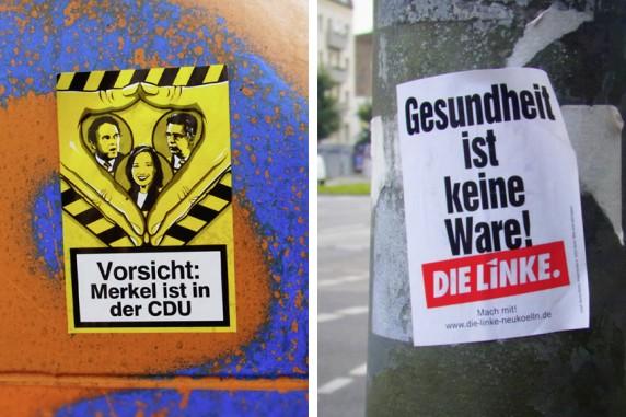 Anonym und Linksgesund, Herfurthstraße & Flughafenstraße