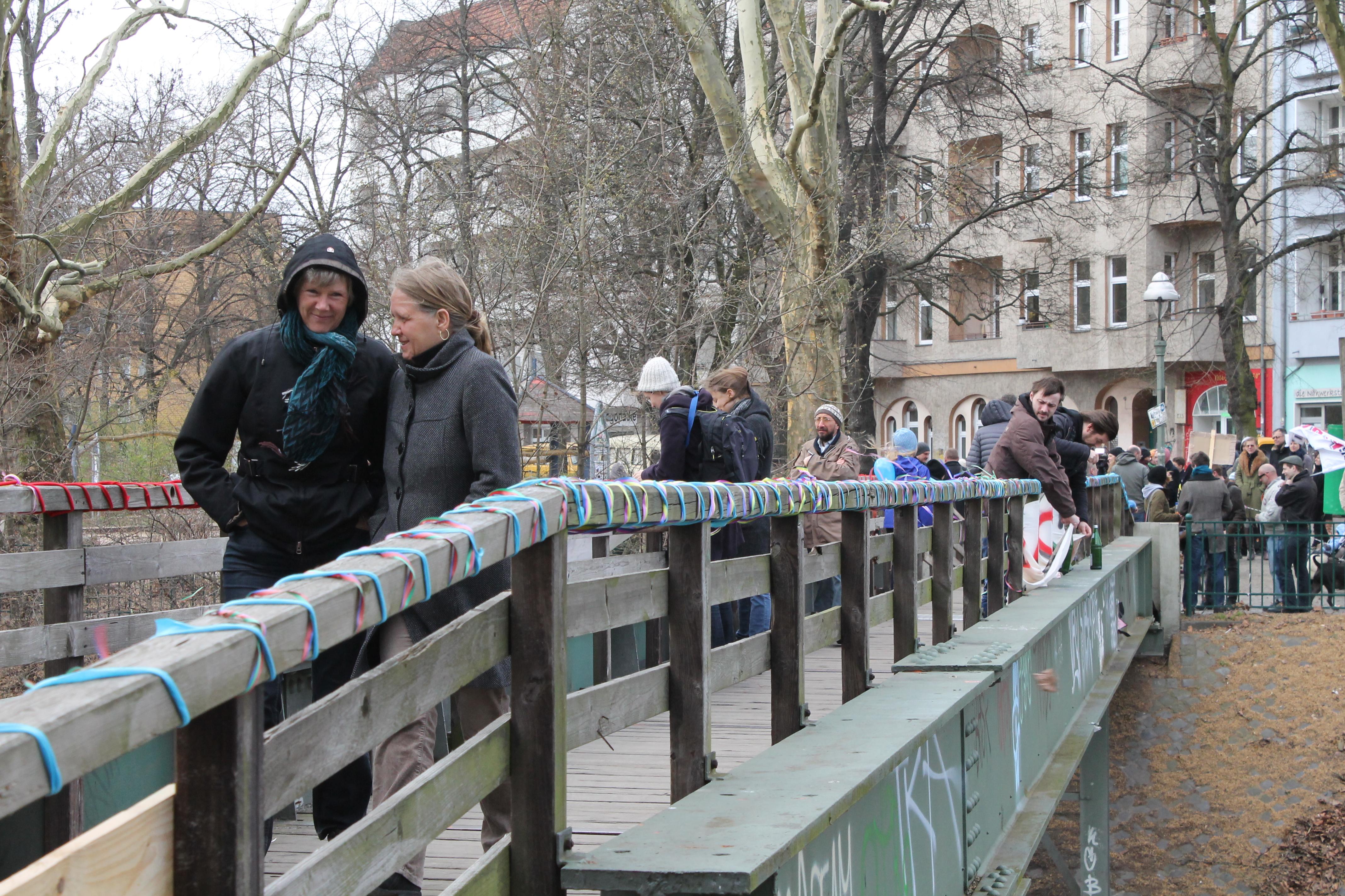 Mut zur Brücke? Viele Anwohner würden sich den von der Senatsverwaltung wünschen (Foto: Anne Stephanie Wildermann).
