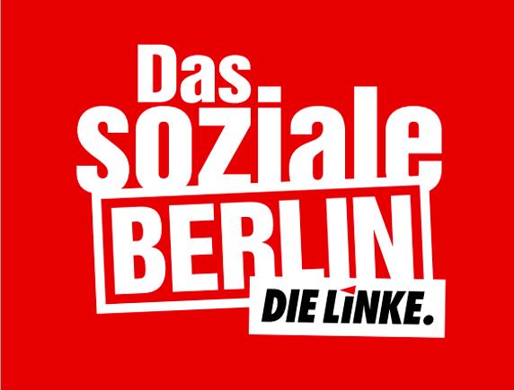 """Mit ihrem Wahlprogramm """"Das soziale Berlin"""" erzielt die Linke bisher kaum Erfolge: In der Sonntagfrage landet die Partei derzeit bei 10,5 Prozent."""