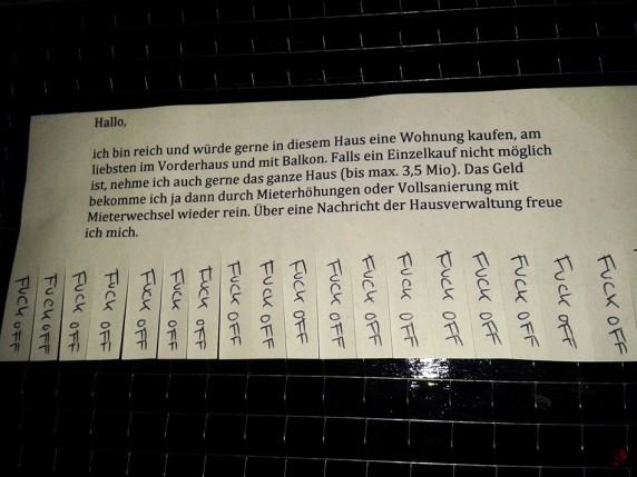 Entdeckt von SVENJA B. in der Mainzer Straße in Neukölln.