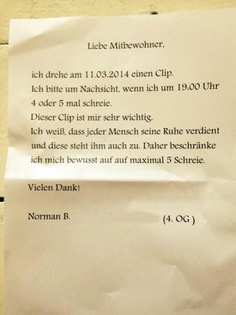 Entdeckt von ANNA in Neukölln.