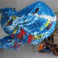 Recycelte Seepferdchen