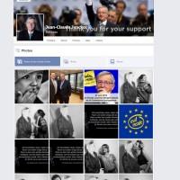 Jean Claude Juncker und seine neuen Fans.