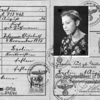 Die gefälschte Kennkarte, mit der Marie Simon als Johanna Koch unterwegs war-Foto-Hermann Simon