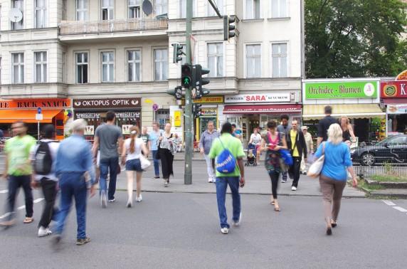Am Hermannplatz liegt das nord-westliche Ende der Sonnenallee.