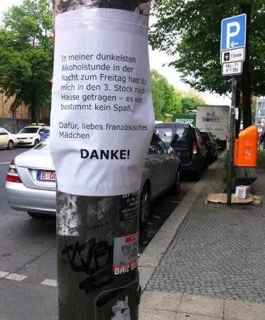 Entdeckt von SINA in der Hermannstraße