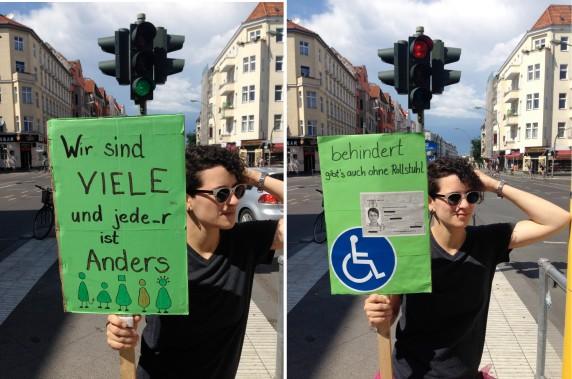 Entdeckt von ELA in der Hermannstraße