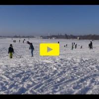 1 Minute im Schnee