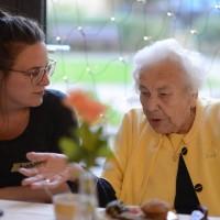 Besuch der alten Dame