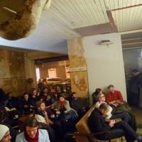 """Impro-Kino im Loophole auf der """"Boddinale"""" (Foto: Christopher von Frankenberg)"""