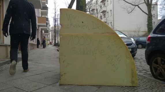 Entdeckt in der Wissmannstraße..