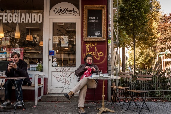 Ein gemütliches Café zu finden, war anfangs gar nicht so leicht