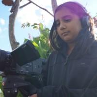 """Junge Filmemacher präsentieren auf dem """"Chiller Filmfestival"""" ihre Kurzflme. (Bild: Michael Zambrano)"""