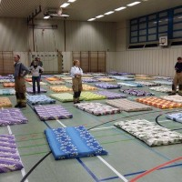 Neue Notunterkunft am Efeuweg