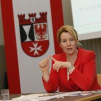 Die Neuköllner Bürgermeisterin Franziska Giffey ist seit einem Jahr im Amt. (Bild: Emmanuelle Contini)