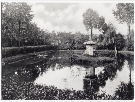 Der private Sommergarten Franz Körners 1908