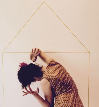 Das transparente Tanzhaus gewährt Einblicke in das Innere, Foto: Imprévu Berlin & Friends