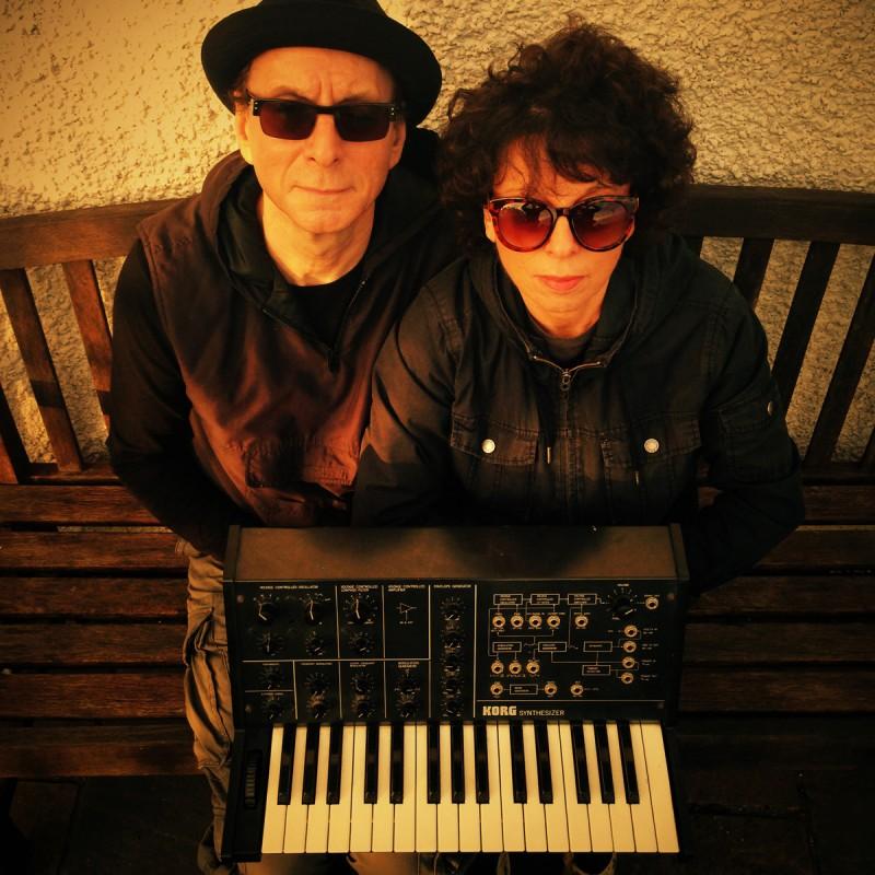 Malka Spigel und ihr Ehemann Colin Newman (Foto: Cargo Records)