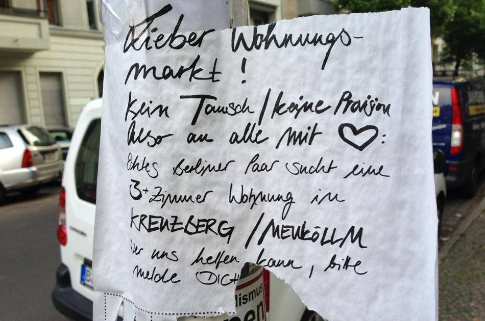 Wohnen, das Wahlkampfthema No. 1