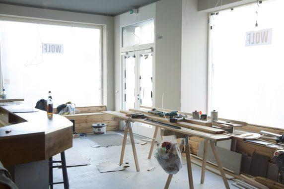 Under construction: Der Wolf soll ein Heim für Filmliebhaber und Filmemacher werden.