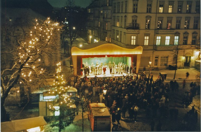Richardplatz Weihnachtsmarkt.Tradition Am Richardplatz Neukoellner Net