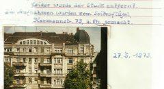 Das Gebäude im Laufe der Zeit (Archiv: Lieselotte Ochmann)