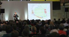 Stadtentwicklungssenator Michael Müller vor kritischer Masse
