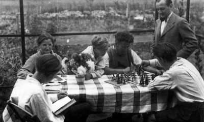 Familie Lewin im Garten