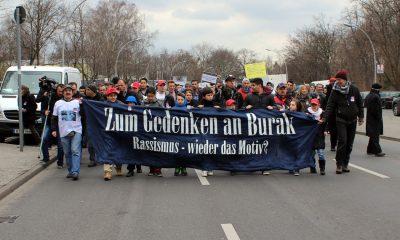 Gedenkmarsch an den ermordeten Burak B. in Neukölln