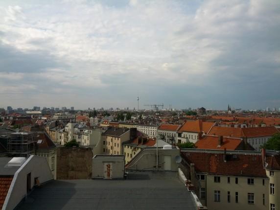 Freier Blick über Berlin