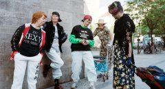 Verkehrte Welt: Rentnerinnen und Jugendliche im Rollentausch / Foto: Nick Grossmann