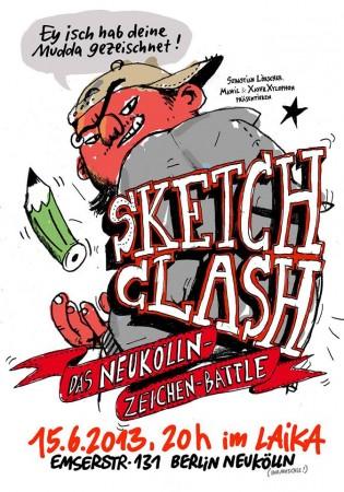 Sketch Clash im Laika