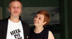 Marc Pampus und Sabine Ammer vom Atelier Kunstmoment