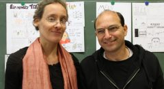 Das Künstlerduo Anna Faroqhi und Haim Peretz