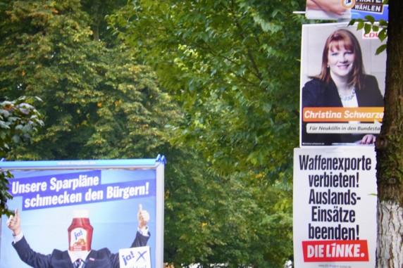 Wahlwerbung ≠ Wahlwerbung, Flughafenstraße