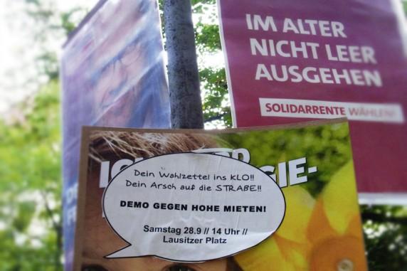 Arsch auf Demo, Boddinstraße