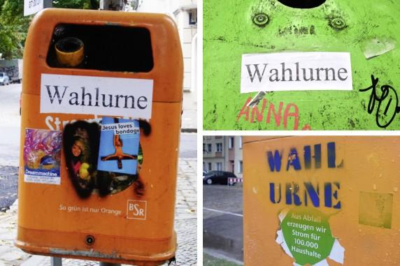 Für die Tonne, Mahlower Straße, Selchower Straße & Herfurthstraße