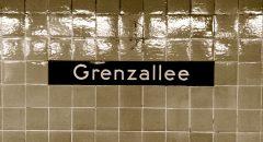 U-Bahnhof Grenzallee – der Ausgangspunkt unserer Erkundungstour