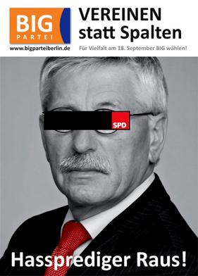 Wahlplakat der Berliner BIGler