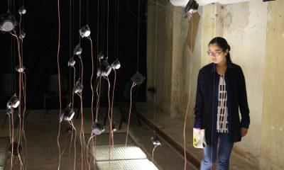 """In """"KlangZeitGefühl"""" versuchen sieben UdK-Studenten das Thema Zeit klanglich zu erfassen."""