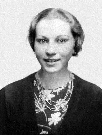"""Foto: Hermann Simon. Aus: Marie Jalowicz Simon, """"Untergetaucht. Eine junge Frau überlebt in Berlin 1940 - 1945"""", S. Fischer Verlag"""