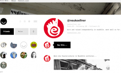 screenshot: neukoellner.net Profil bei ello