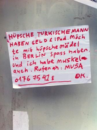 Entdeckt von DOT MATRIX BERLIN an der Pannierstrasse