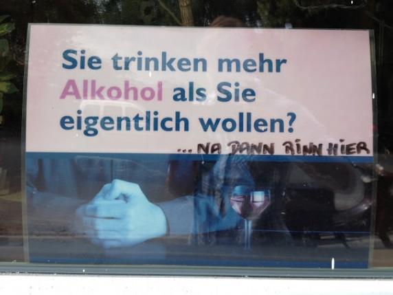 Entdeckt von Petra in der Fuldastraße.