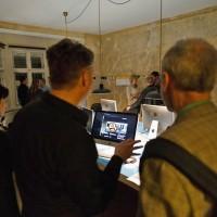 Nachtschicht der Designbüros