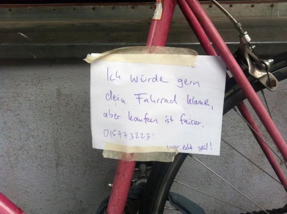 Entdeckt in Neukölln.