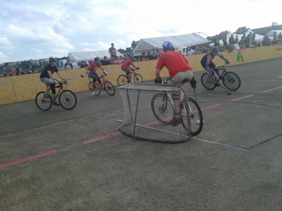 Bikepolo Tempelhofer Feld